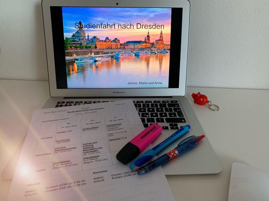 Unsere Planung der Klassenfahrt