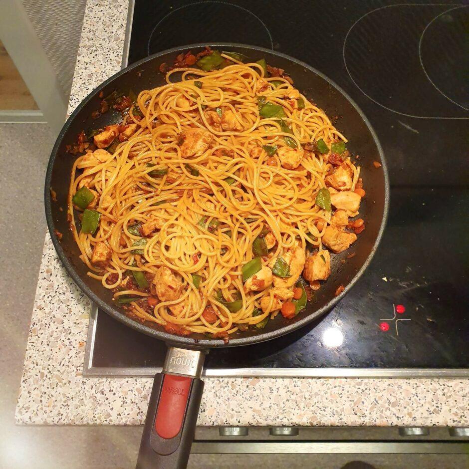 Gesunde Ernährung – Wok-Pfanne
